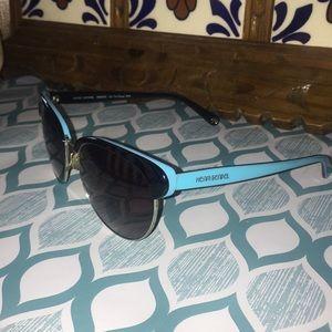 Henri Bendel Blue Sunglasses